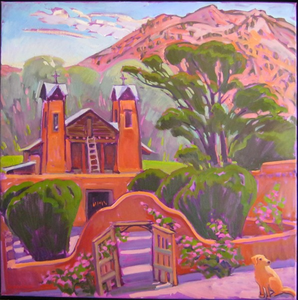 Why Move From New Jersey to New Mexico? Candles in the Chapel 596x600